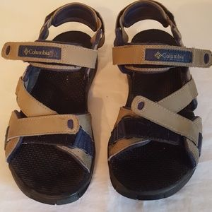 Columbia open sandals with Velcro